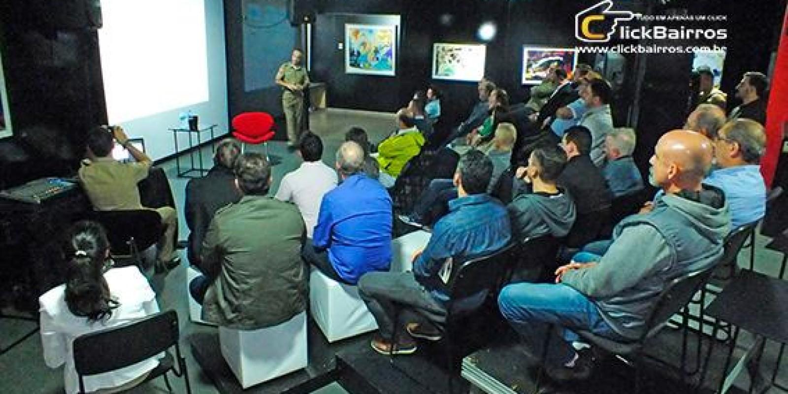 Segurança Pública foi tema de palestra para empresários