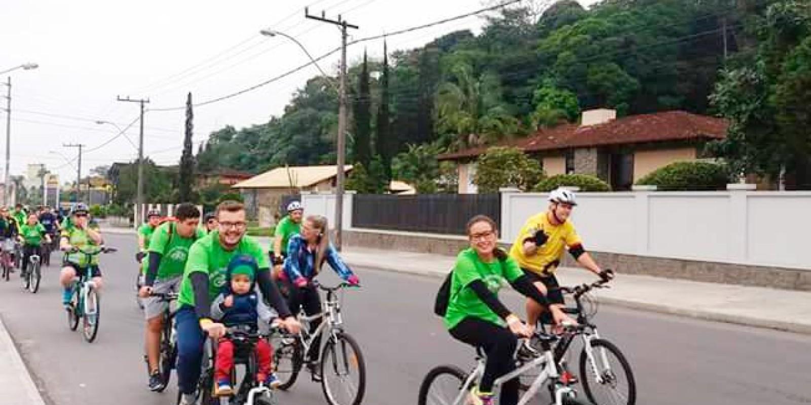 Pedal da Sustentabilidade acontece nessa sábado (8)