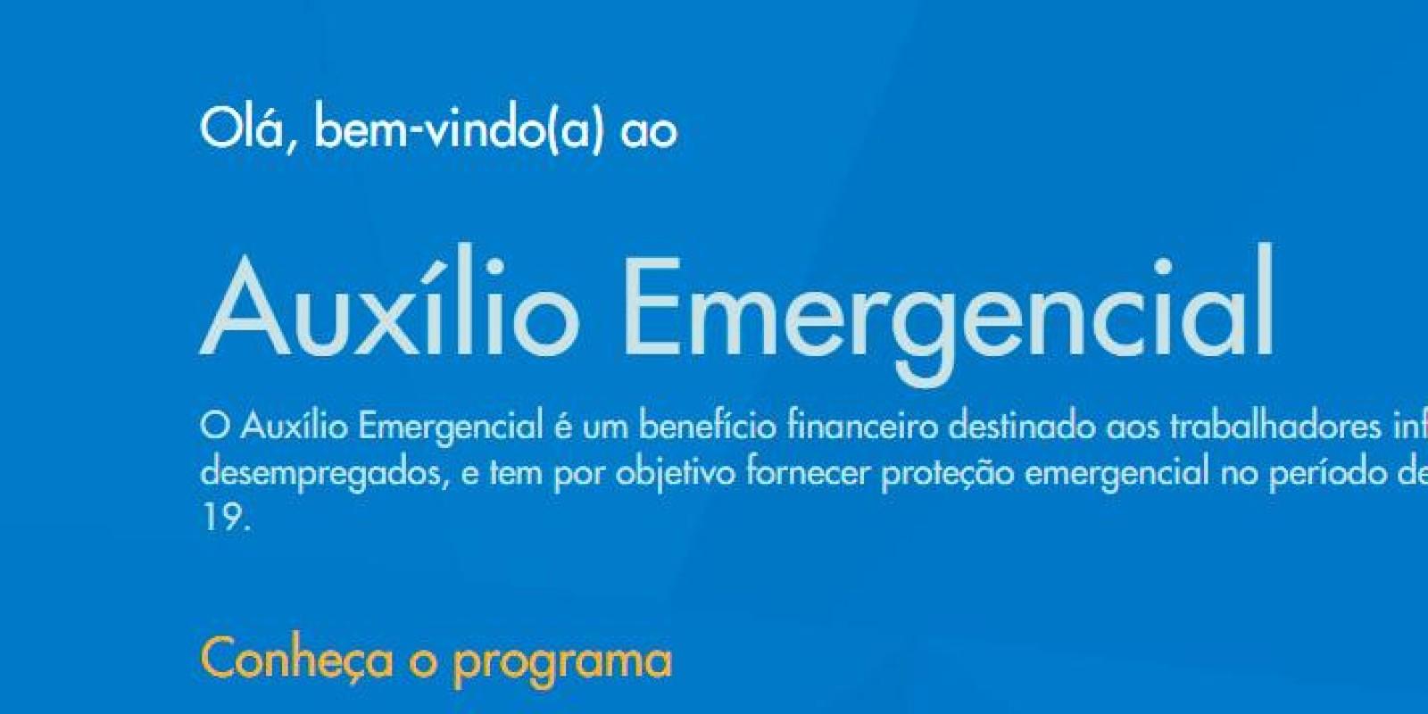 Auxílio emergencial de R$ 600 já pode ser solicitado