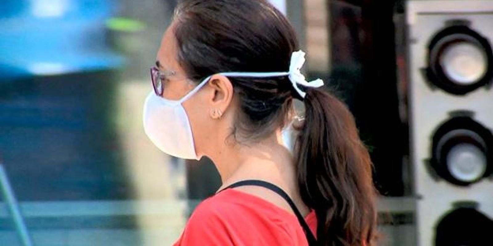 Uso da máscara de proteção será obrigatória para algumas atividades